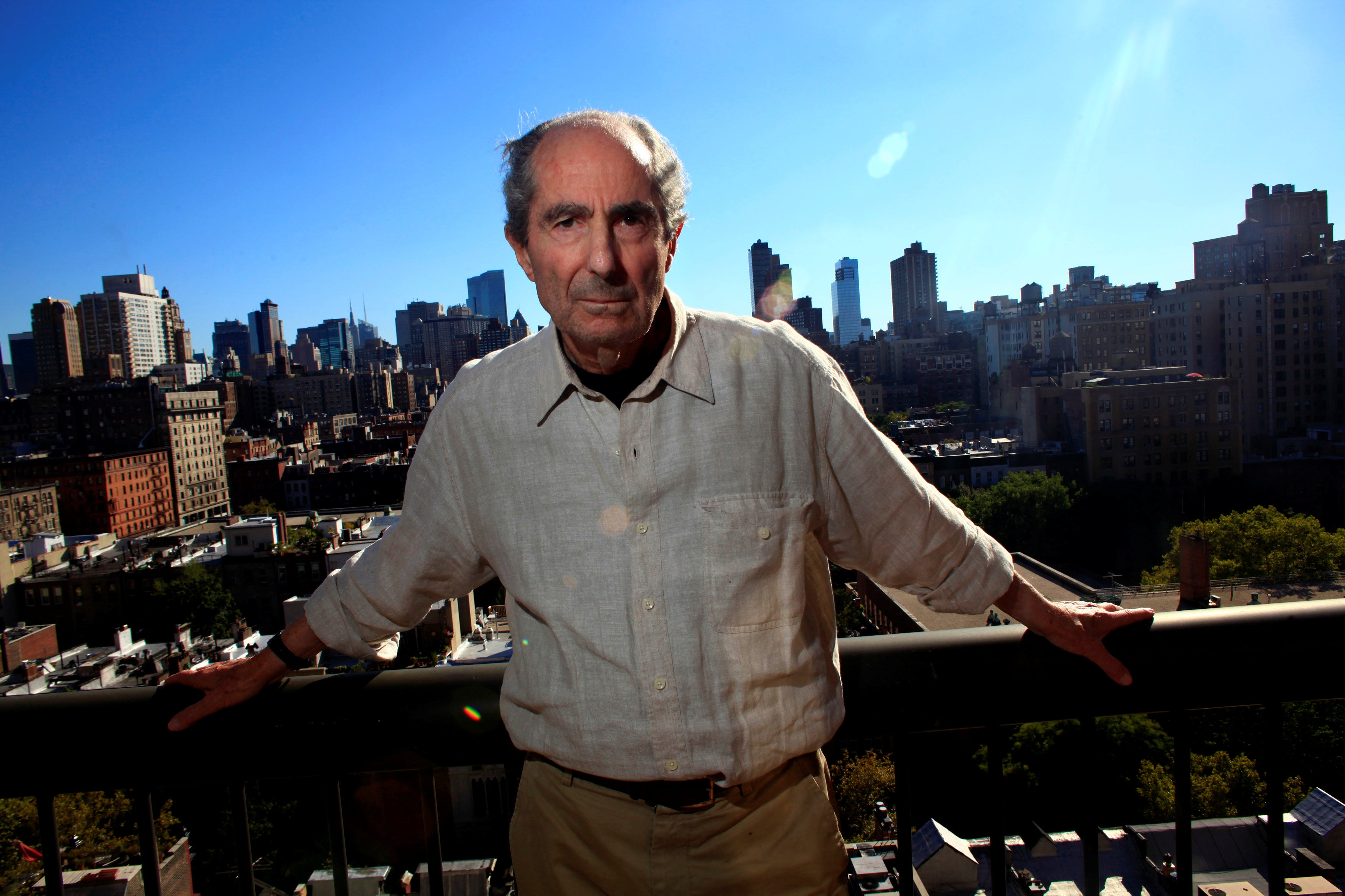 Philip Roth in New York in 2010.