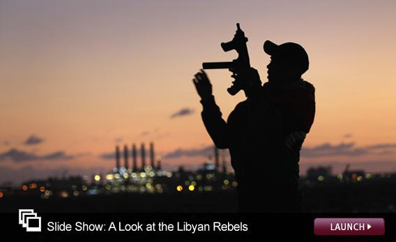Slide Show: A Look at the Libyan Rebels. Click image to launch.