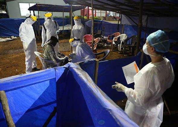 Ebola Treatment Sierra Leone.