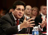 Attorney General Alberto Gonzales. Click image to expand.