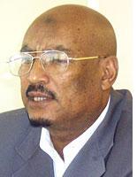 Diaspora politician Faisal Ali Waraabe. Click image to expand.