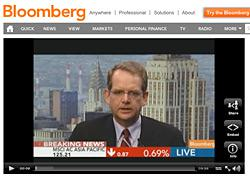 John Chambers on Bloomberg TV. Click image to see video.