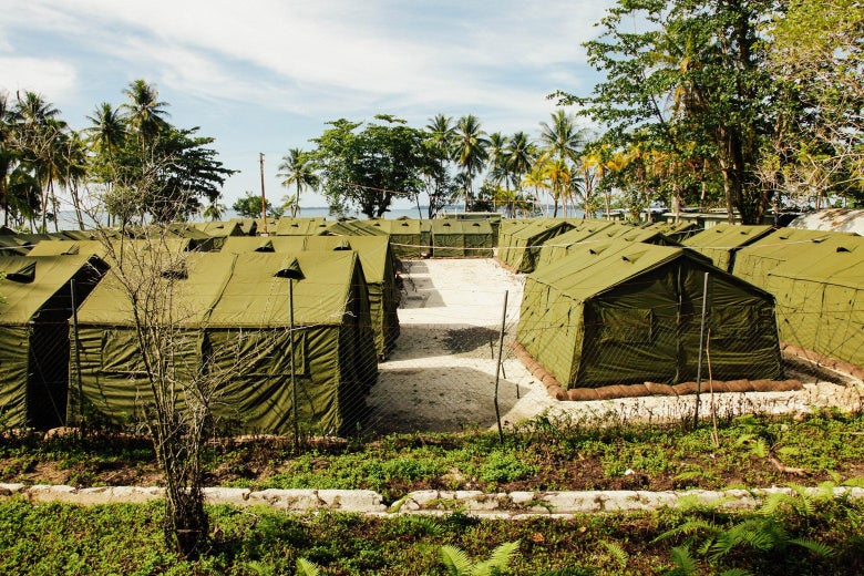 Facilities at the Manus Island Regional Processing Centre