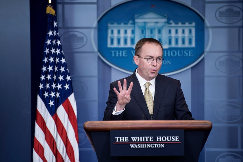 Mick Mulvaney, Trump's budget chief, took over the Consumer Financial Protection Bureau in November.