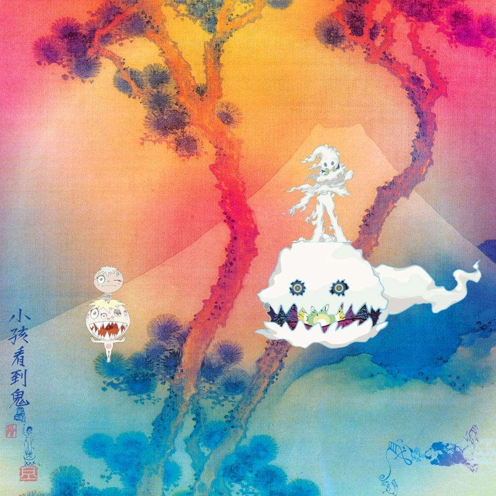 Kids See Ghosts album cover.