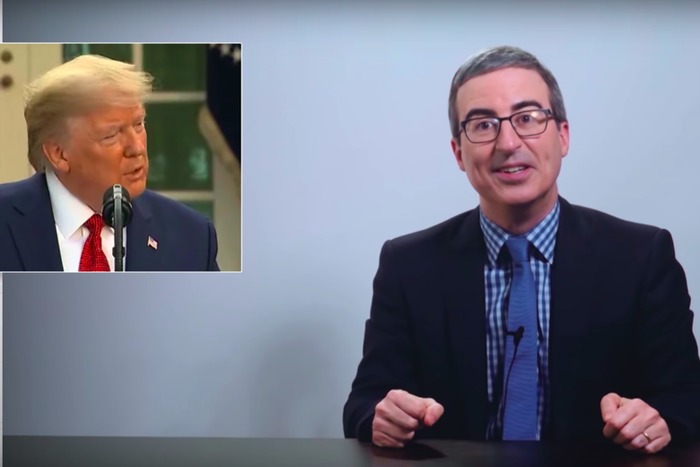 John Oliver Dives Deep Into Trump's Other Favorite News Network
