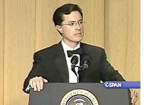 Stephen Colbert At The White House Correspondents Dinner. Click image to expand.