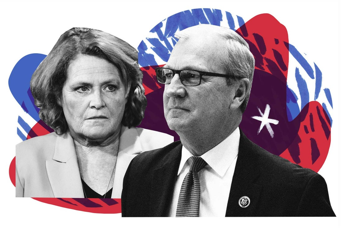 Heidi Heitkamp and Kevin Cramer.