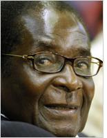Robert Mugabe. Click image to expand
