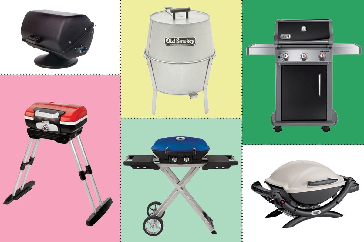Collage of various grills.