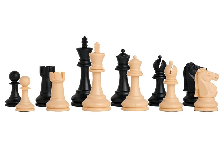 House of Staunton Reykjavik Plastic Chess Set