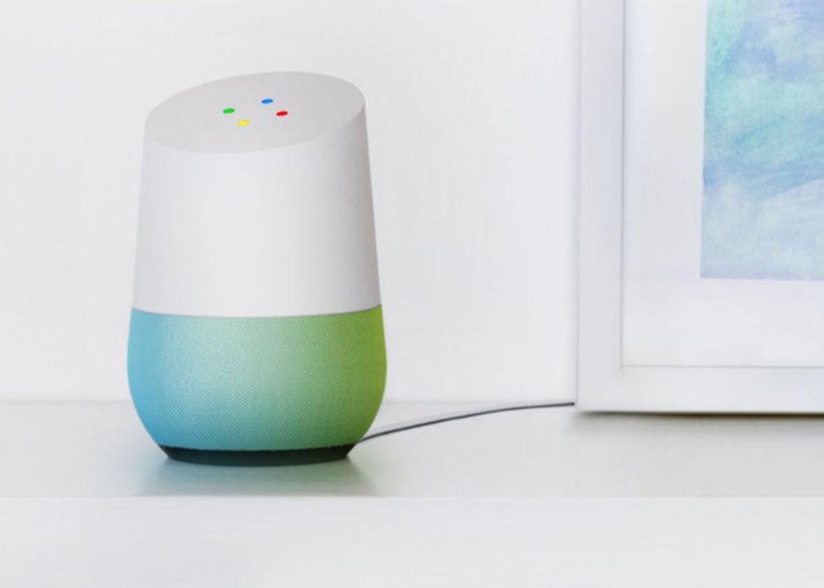Google Home.