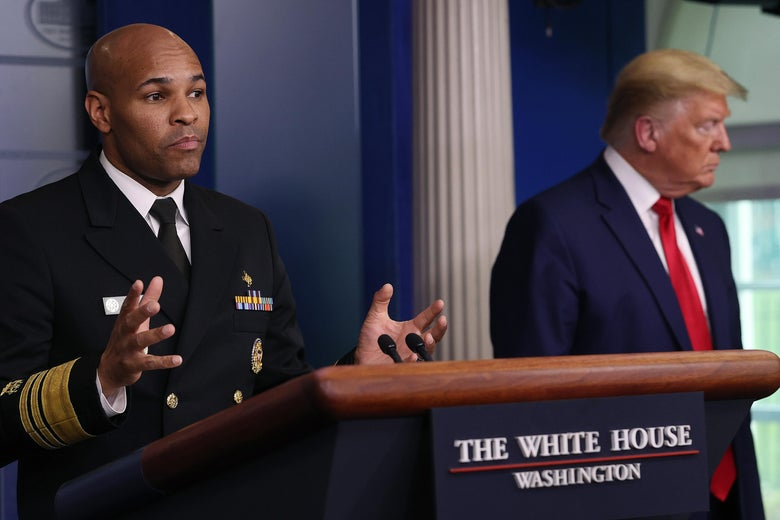 "Surgeon General: ""This Is Going to Be the Hardest and the Saddest Week of Most Americans' Lives"""