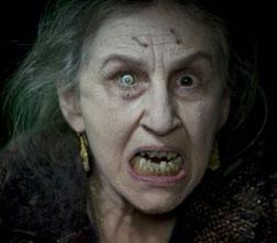 Lorna Raver as Mrs. Ganush in Drag Me To Hell.