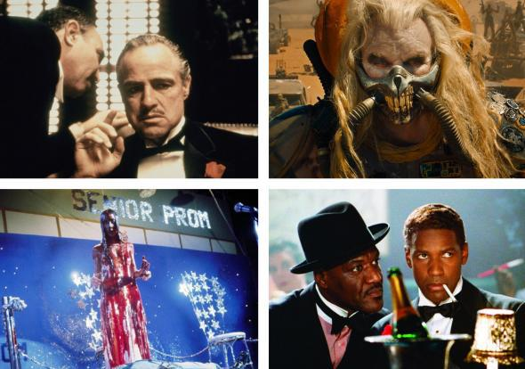 The Godfather, Mad Max: Fury Road, Carrie, and Malcolm X are just a few of the great movies coming to streaming this month.