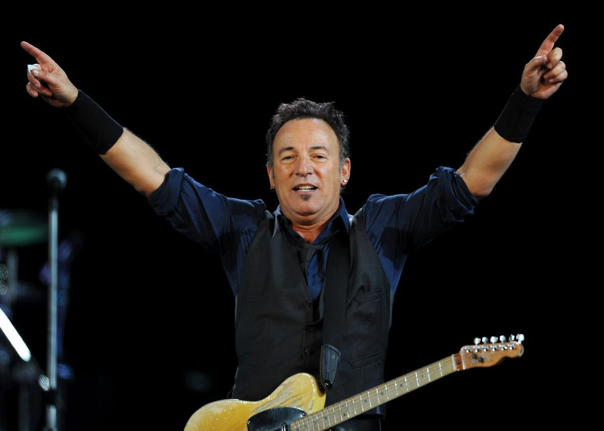 Bruce Springsteen. Click image to expand.