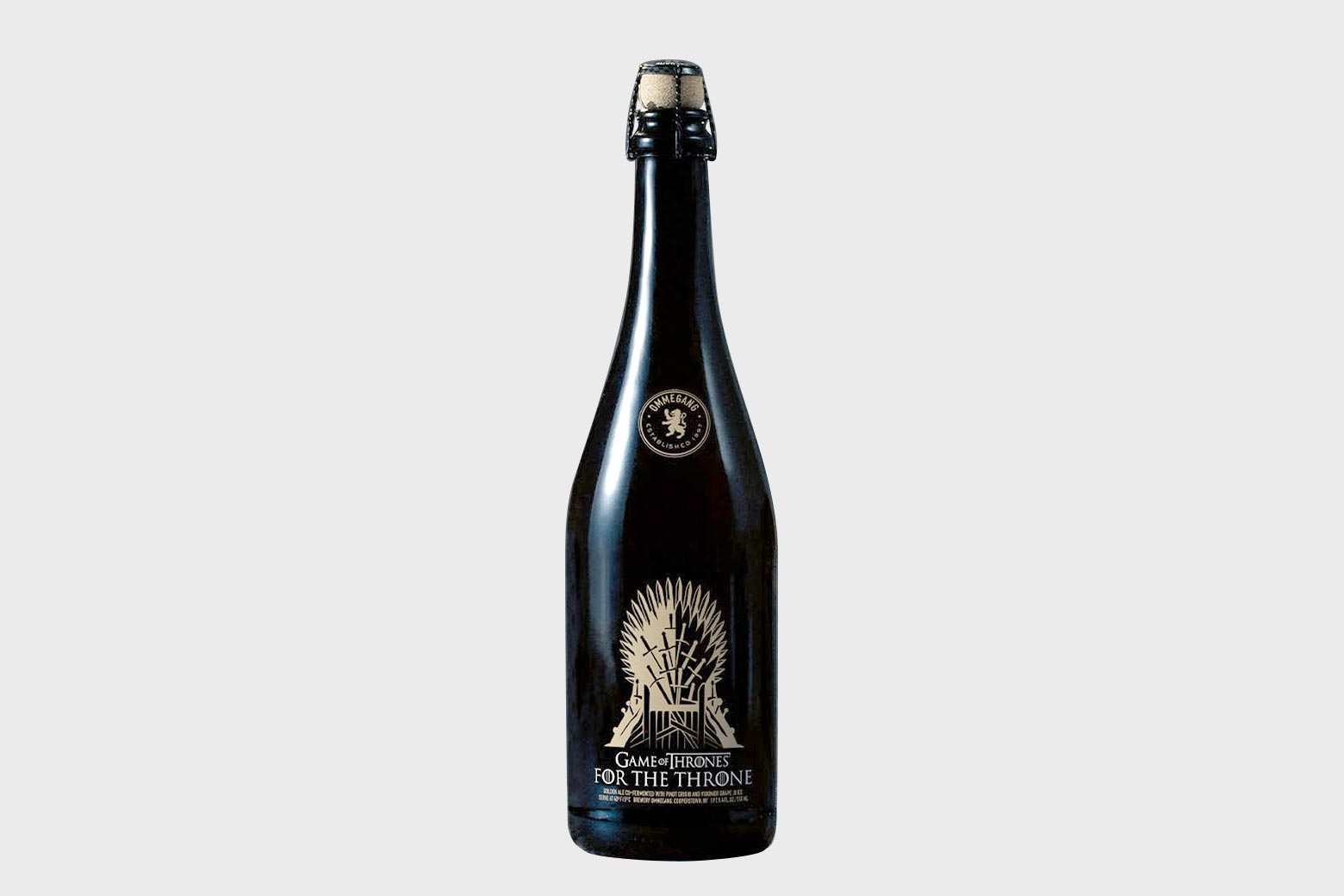 """Ommegang's """"For the Throne"""" golden ale."""