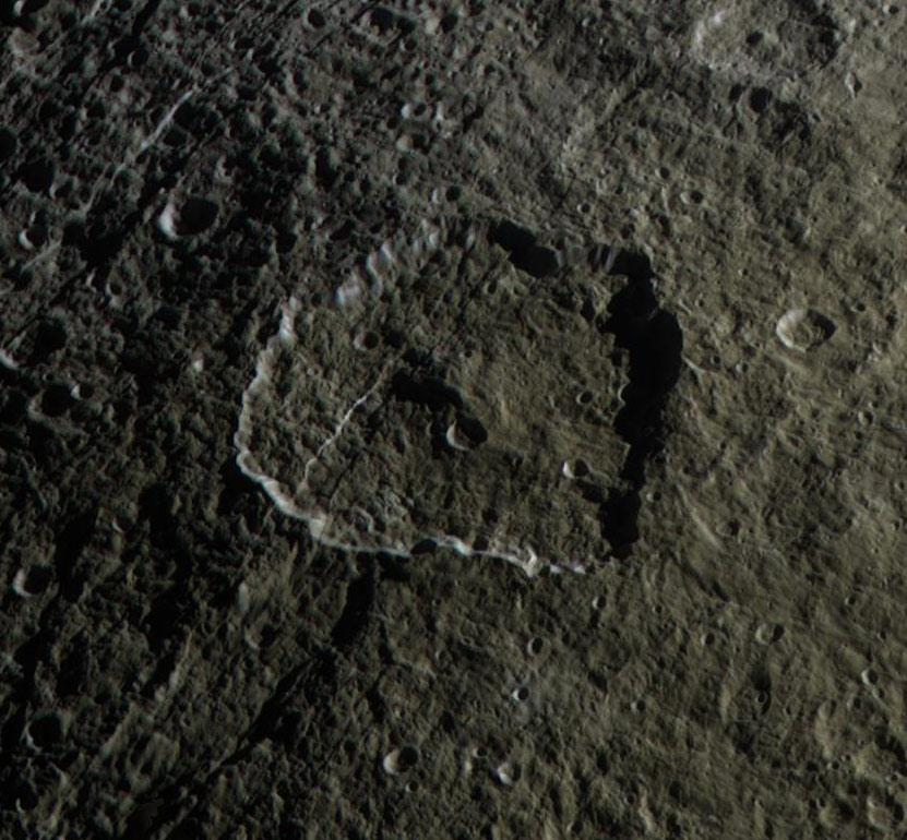 Rhea crater