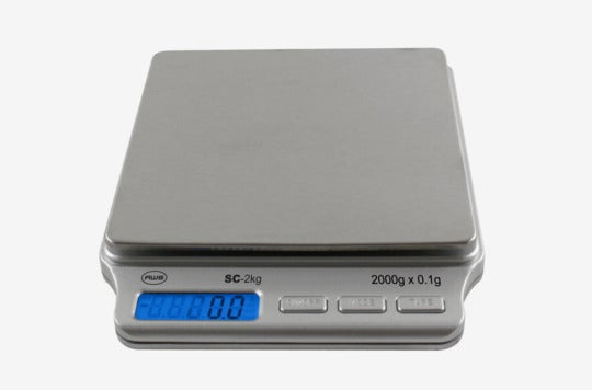 American Weigh Scales pocket scale.