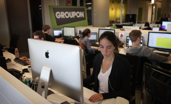 Groupon headquarters in Chicago