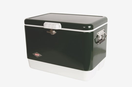 Coleman 54-Quart Steel-Belted Cooler.