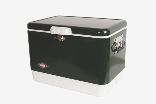 Coleman 54-Quart Steel-Belted Cooler.