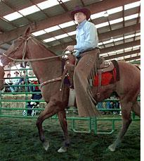Joe Cool cowboys up