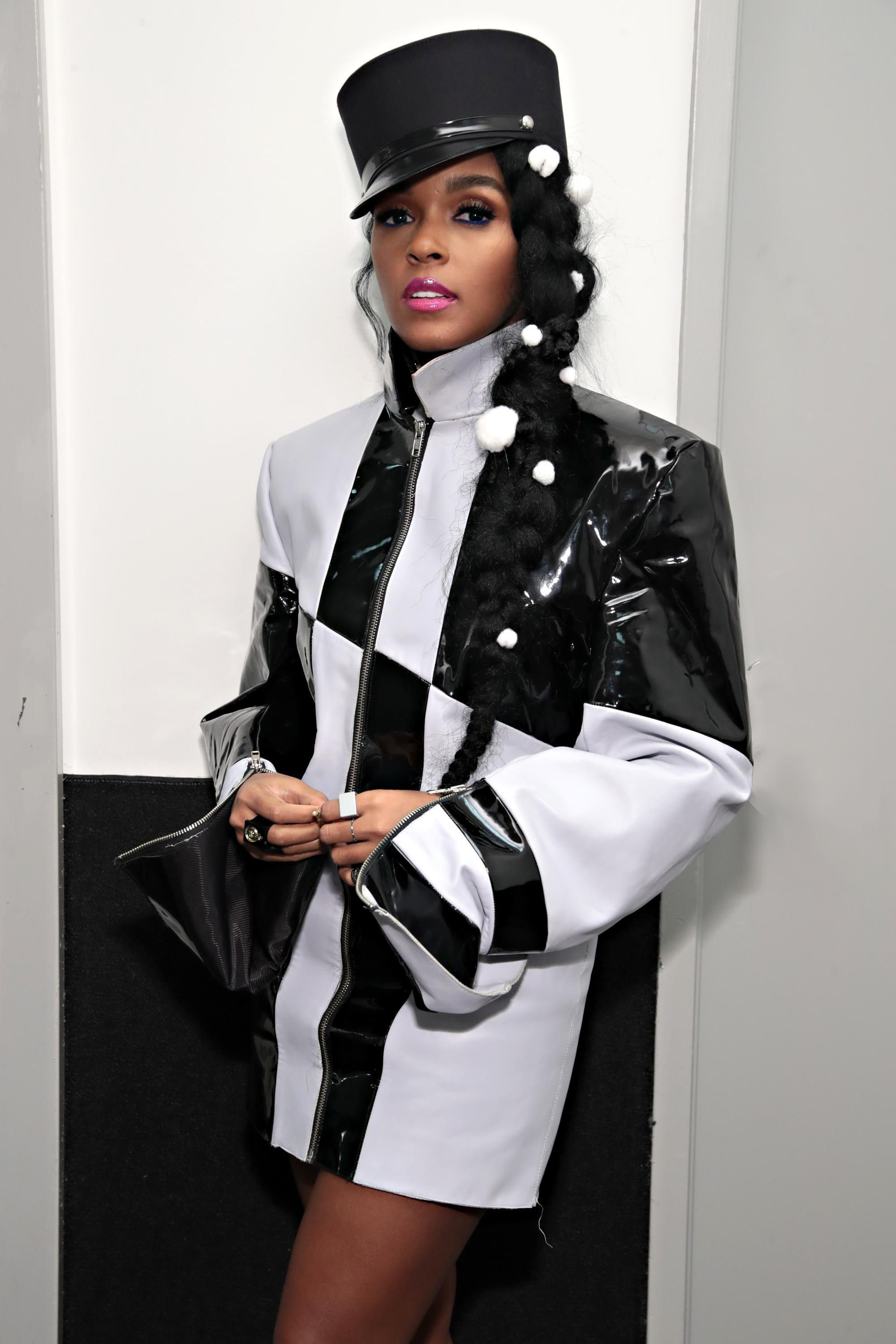 Recording artist/ actress Janelle Monae attends the 'Dirty Computer' screening at The Film Society of Lincoln Center, Walter Reade Theatre on April 23, 2018 in New York City.