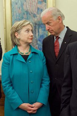 Hillary Clinton and Joe Biden. Click image to expand.