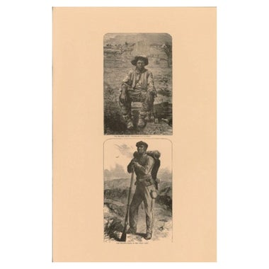 Civil War prints of black Union soldiers