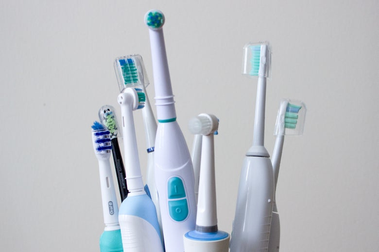 Group electric toothbrushes
