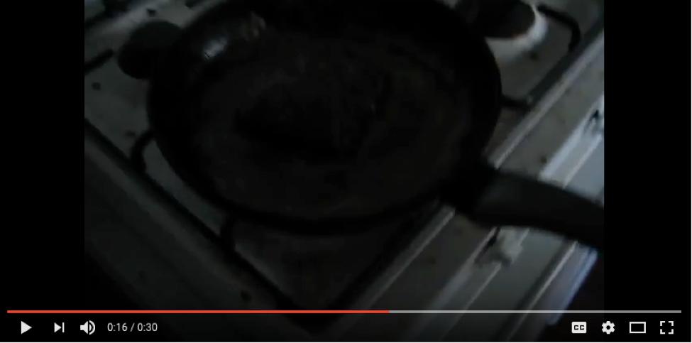 """""""Dinner"""" video."""