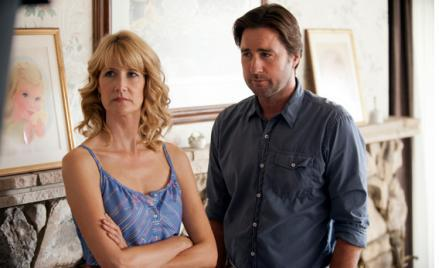 Laura Dern and Luke Wilson.
