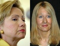 Clinton and Rowling: Eh, quit yer whining!
