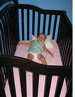 Our daughter's new crib. Click image to expand