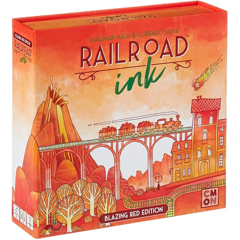 The box of Railroad Ink.