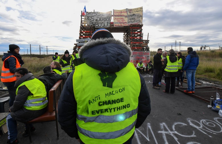 اخبار المظاهرات فى فرنسا