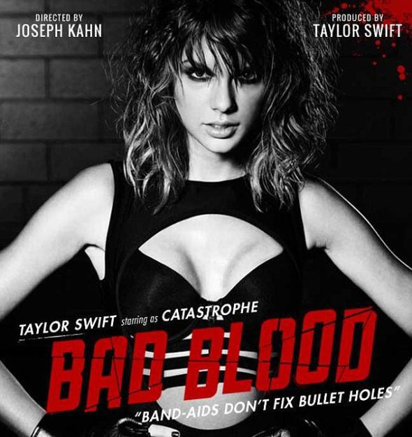 "Taylor Swift ""Bad Blood"" poster"