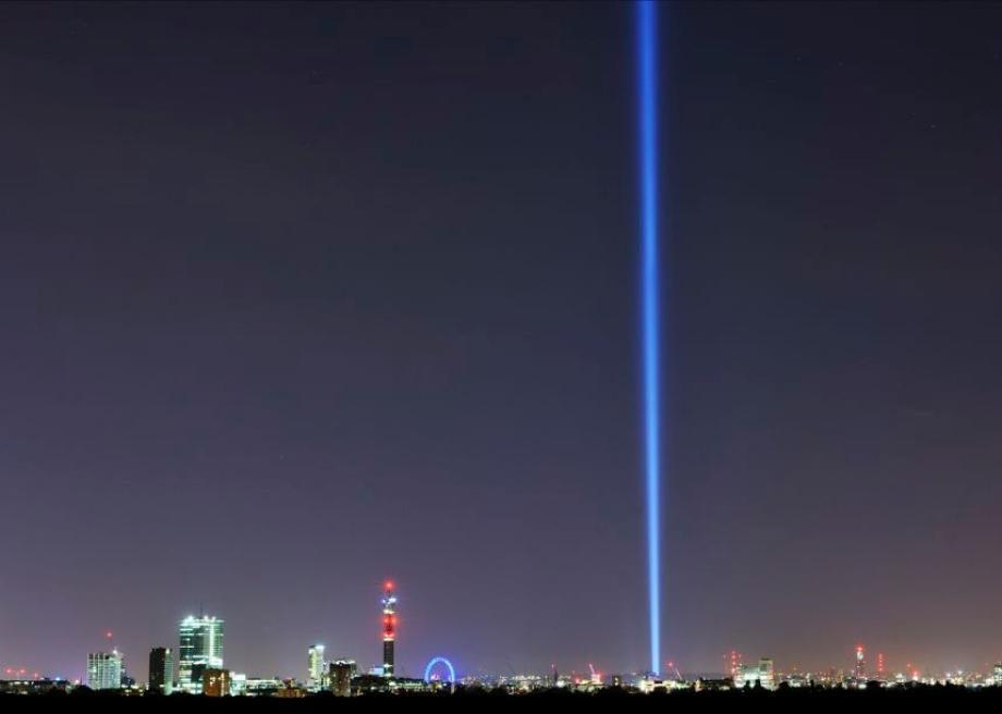Ryoji Ikeda Spectra marks the centenary of World War I in London.