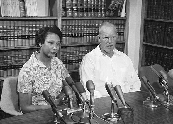 Mildred and Richard Loving, June 13, 1967.