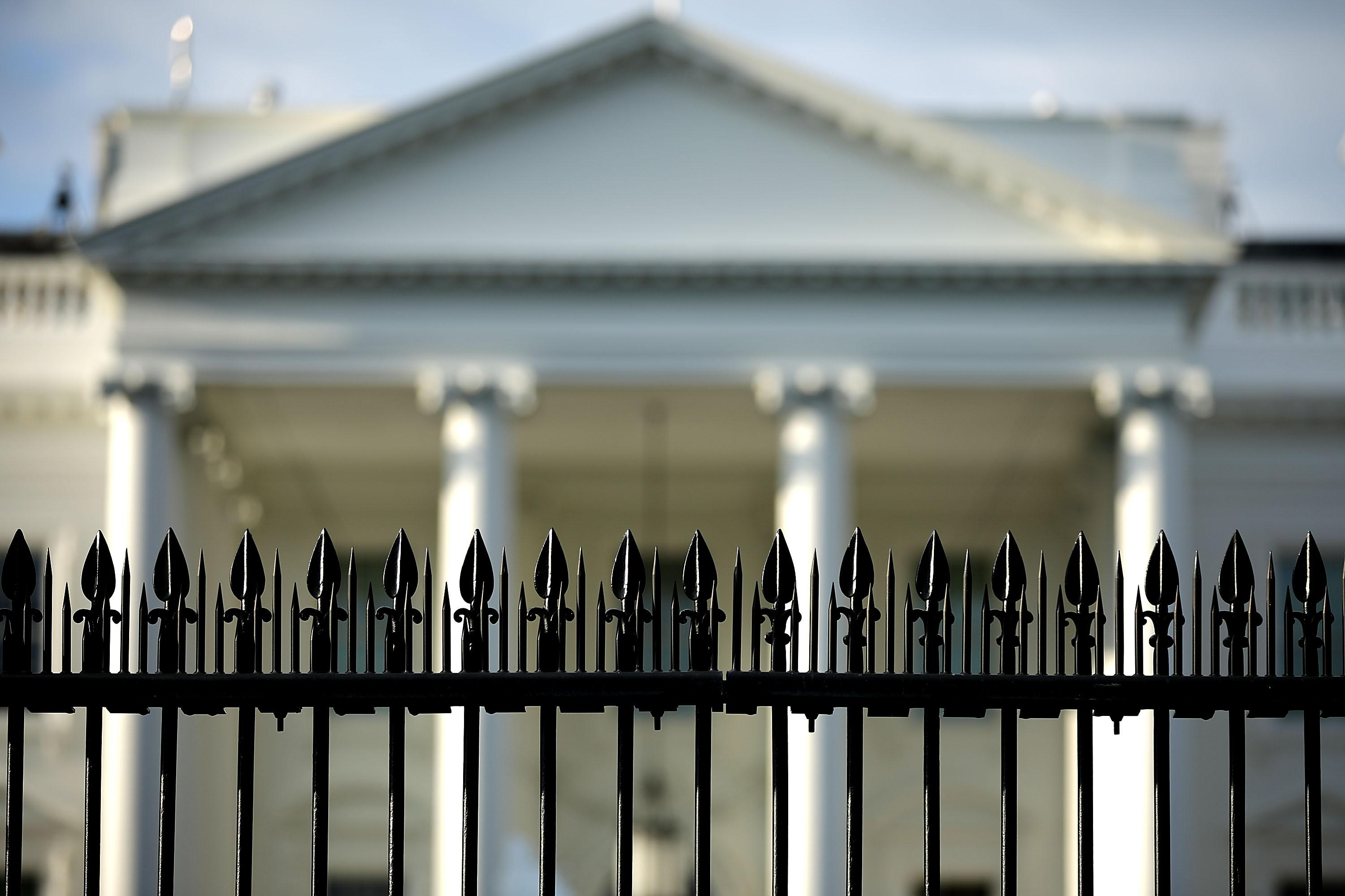 WASHINGTON, DC - AUGUST 22:  Early morning sunshine hits the north side of the White House on August 22, 2018 in Washington, DC. On Tuesday President Donald Trump's former lawyer and fixer Michael Cohen admitted in court that Mr. Trump directed him to break campaign finance laws by paying off two women who said they had sexual relationships with Mr. Trump while at the same time that Trump's former campaign chairman Paul Manafort was found guilty of eight counts of tax and bank fraud.  (Photo by Chip Somodevilla/Getty Images)