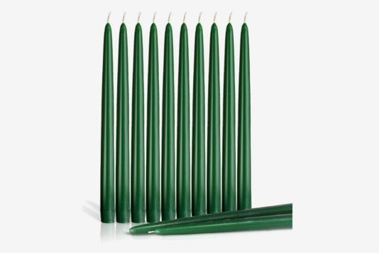 Dripless Taper Candles 12-Inch Tall.