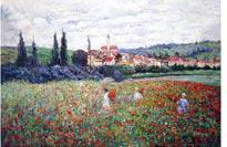 "Monet's ""Poppies Near Vetheuil"""