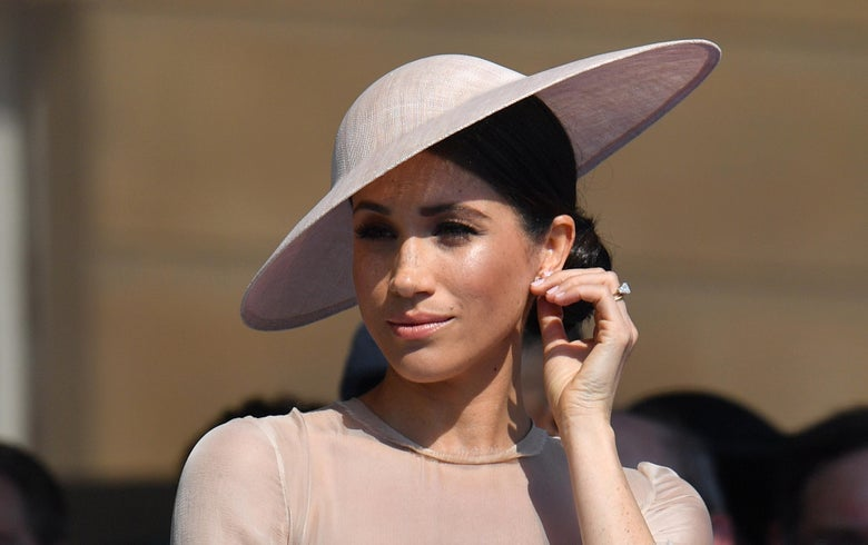 """Great Britain's Meghan, Duchess of Sussex. """"Srcset ="""" https://compote.slate.com/images/5e535240-6c59-434e-8e97-041a80d762b2.jpeg?width= 780 & height = 520 & rect = 3768x2512 & offset = 232x0 1x, https: // compote width = 780 & height = 520 & rect = 3768x2512 & offset = 232x0 2x"""