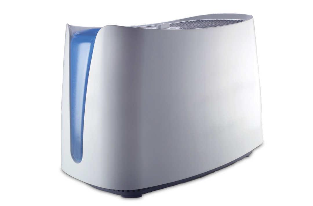 Rectangular Honeywell humidifier.