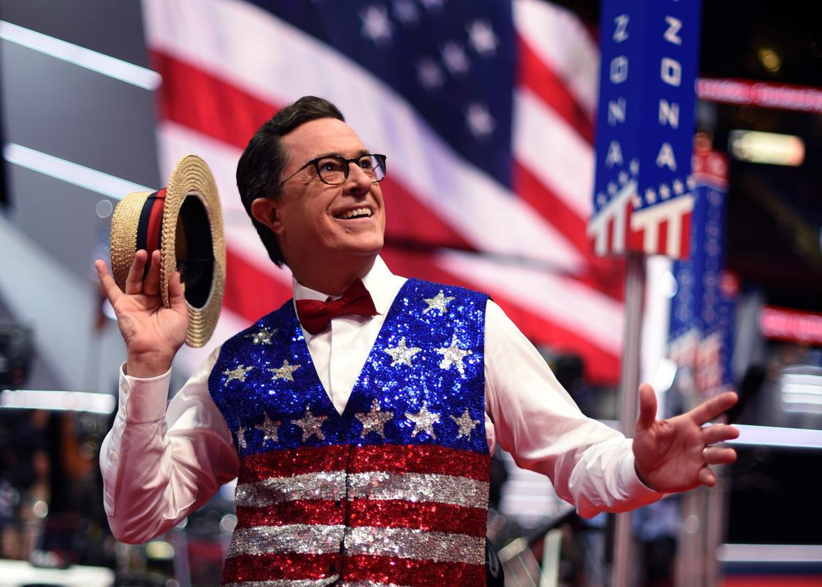 Stephen Colbert Says Hed Headline The White House Correspondents