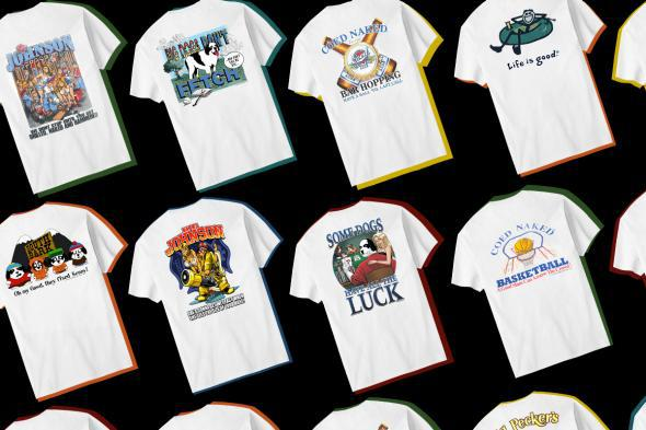 da711f35da6f0 T-shirts from a time when you could get away with wearing your heart on your  sleeve and didn't have to worry so much if you were being ironic,  post-ironic, ...