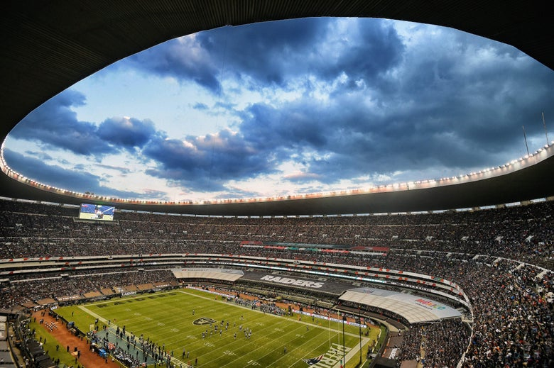 NFL pulls plug on Mexico City Chiefs-Rams game after field conditions deemed unsafe.
