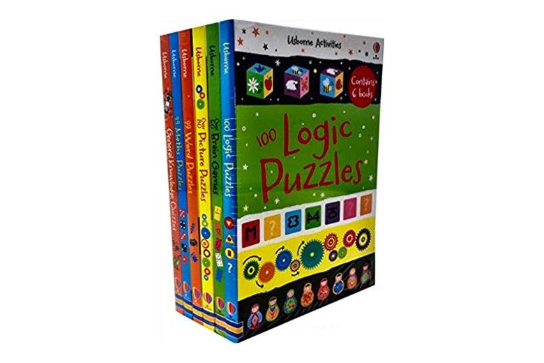 Puzzle book set