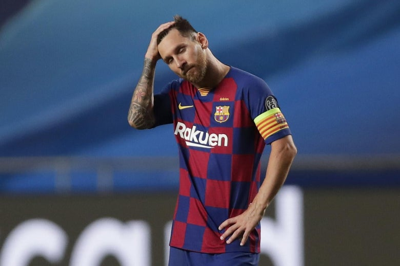 Lionel Messi Staying At Barcelona What S Left For Him There